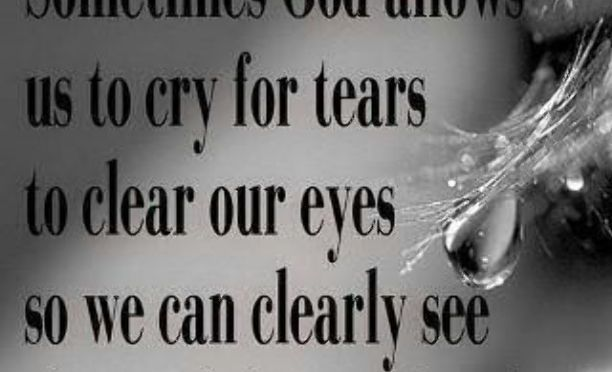 Learn to Weep (2 min read)