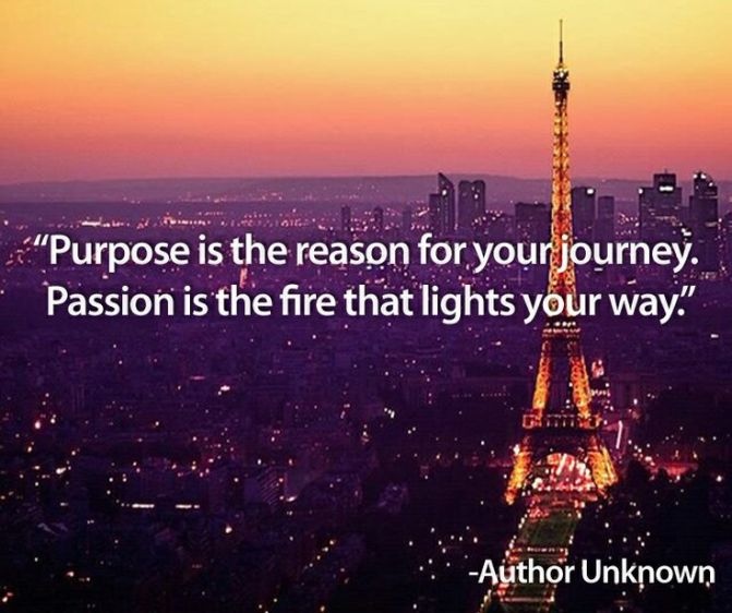 Passion as Purpose (4 min read)